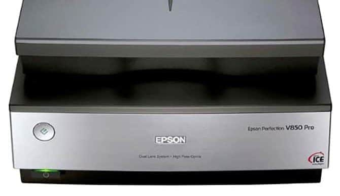 Best Epson Photo Scanners Compared (Our Pick: Epson V850)