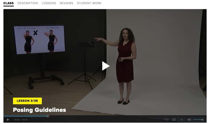 Posing Guidelines Course