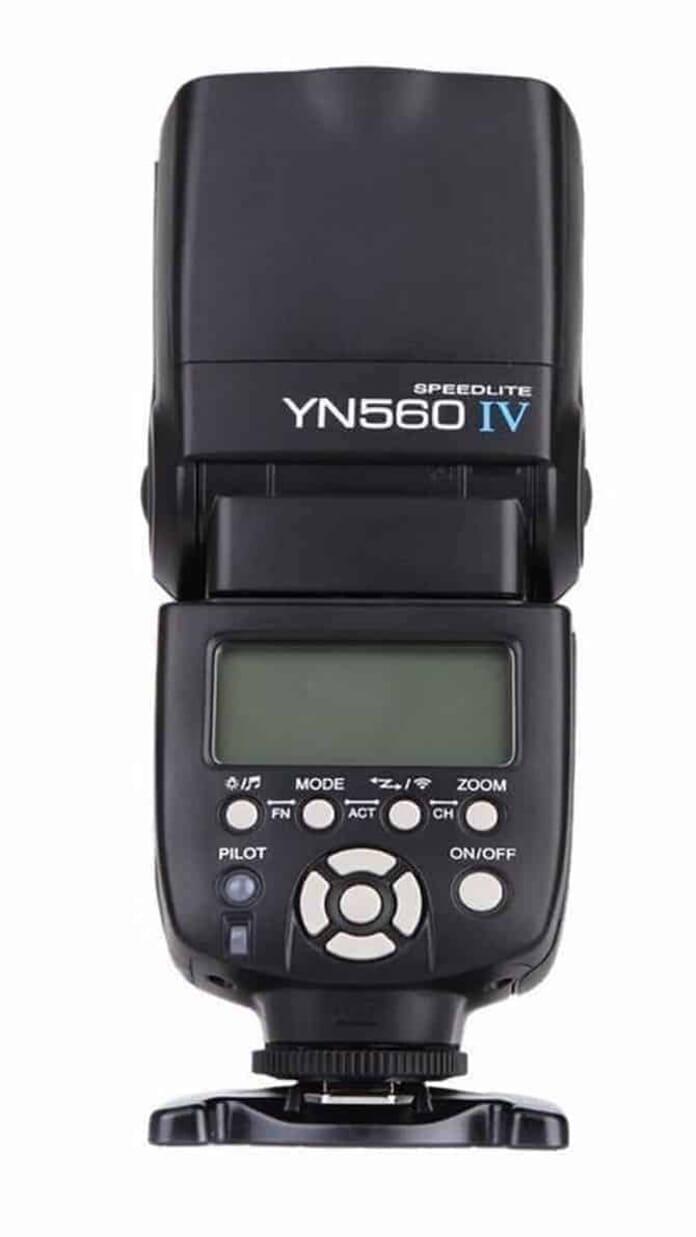 slave flashes Yongnuo YN560-IV