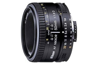 Best Lens Nikon D5600 - The Nikon Af Fx Nikkor 50mm F/1.8d Prime Lens With Manual Aperture Control