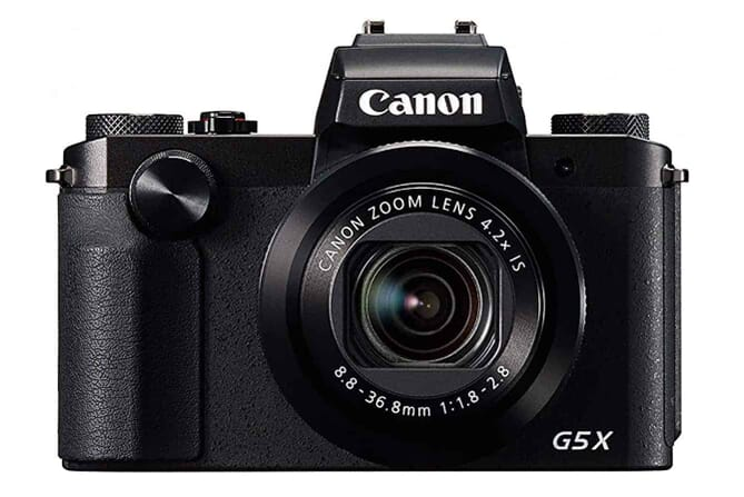 One of the Best Camera with Viewfinder: Canon PowerShot G5x