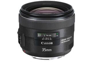 Canon EF 35mm f/2 lens