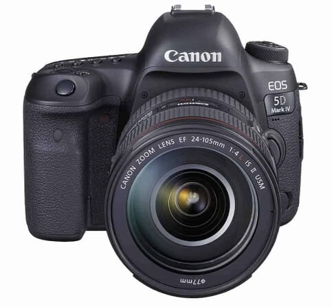 For the Pro Fashion Blogger: the Canon EOS 5D Mark IV Full Frame Digital SLR Camera with EF 24-105mm f:4L IS II USM Lens Kit