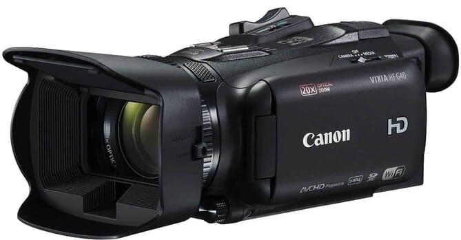 Canon Vixia HFG40 camcorder
