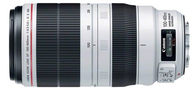 Canon EF 100-400mm F/4.5-5.6-L II lens