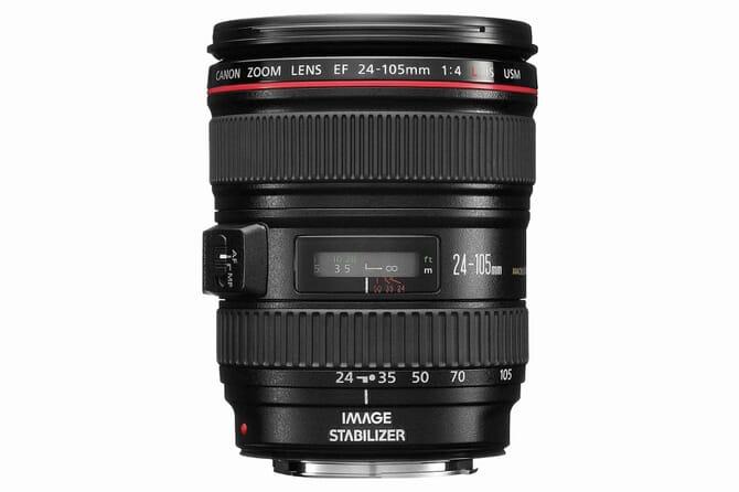 Canon EF 24-105mm f/4-L lens