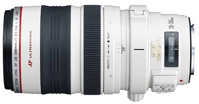 Canon EF 28-300mm f/3.5-5.6-L lens