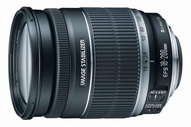 Canon EF-S 18-200 f/3.5-5.6lens