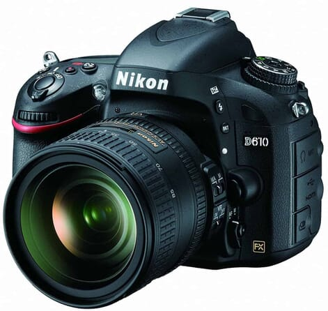 Pro Like DSLR for Serious Fashion Bloggers the Nikon D610 FX-Format DSLR Camera