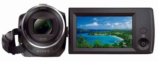 Sony HDRCX405 Handycam camcorder