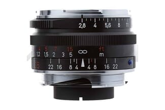 Zeiss 35mm f/2.8 lens