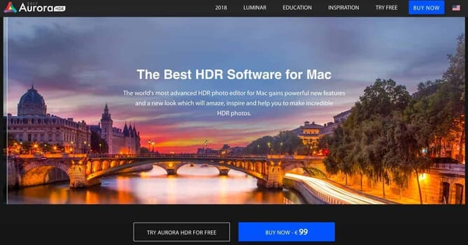 Aurora HDR Best HDR Software for Mac Users