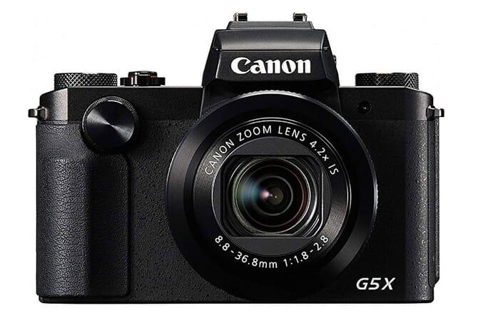 Canon G5 X touchscreen compact camera