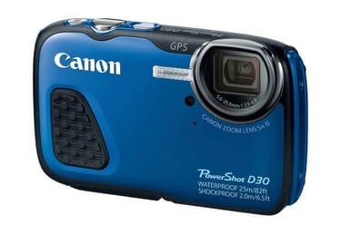 Canon PowerShot D30 diving camera