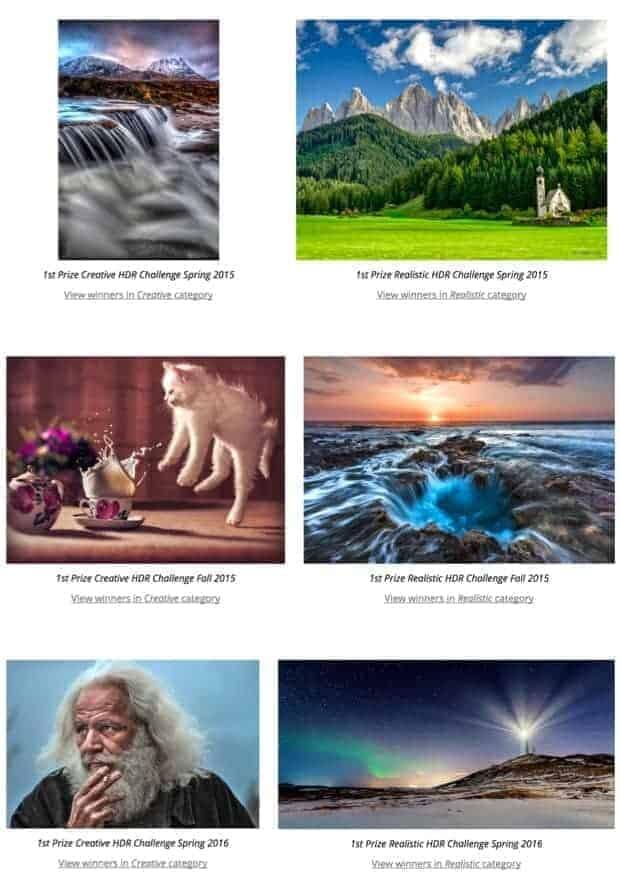 Photomatix HDR Software Sample Images