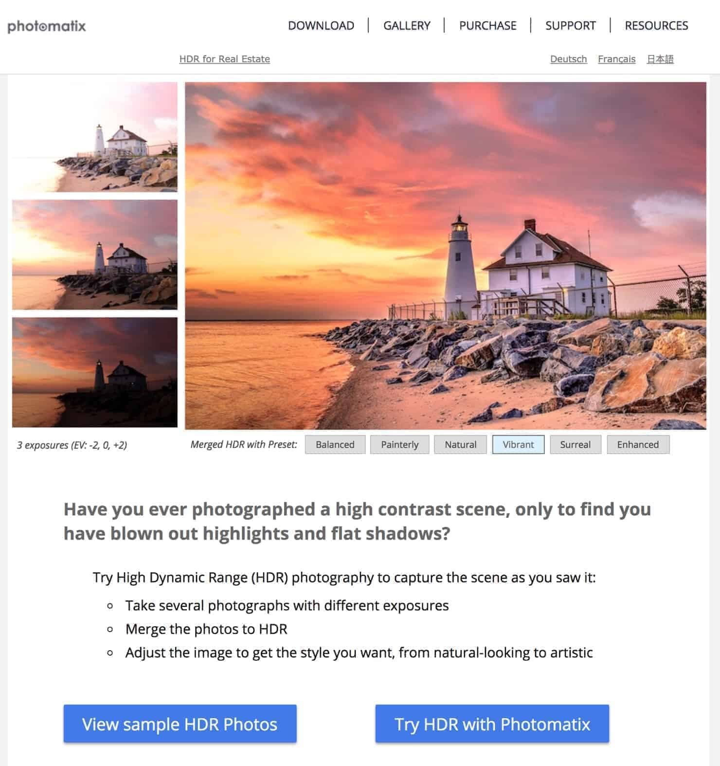 PhotoMatix Pro Best HDR Software