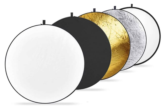 Neewer 43-inch 5-in-1 Collapsible Multi Disc Light Reflector
