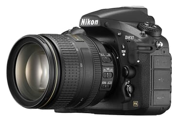 Nikon D810 (w/ 24-120mm lens) vacation camera