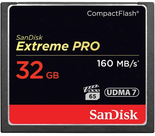 Sandisk 32 GB compact flash