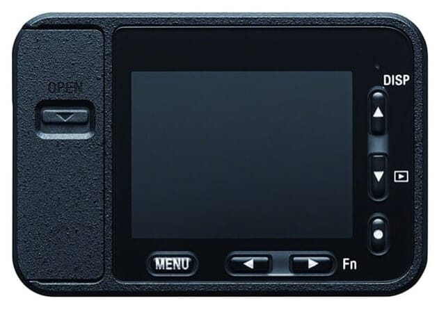 Sony 1.0-type Sensor Ultra-Compact Camera with Waterproof and Shockproof Design