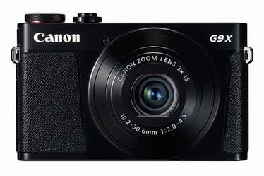 Canon G9X vacation camera