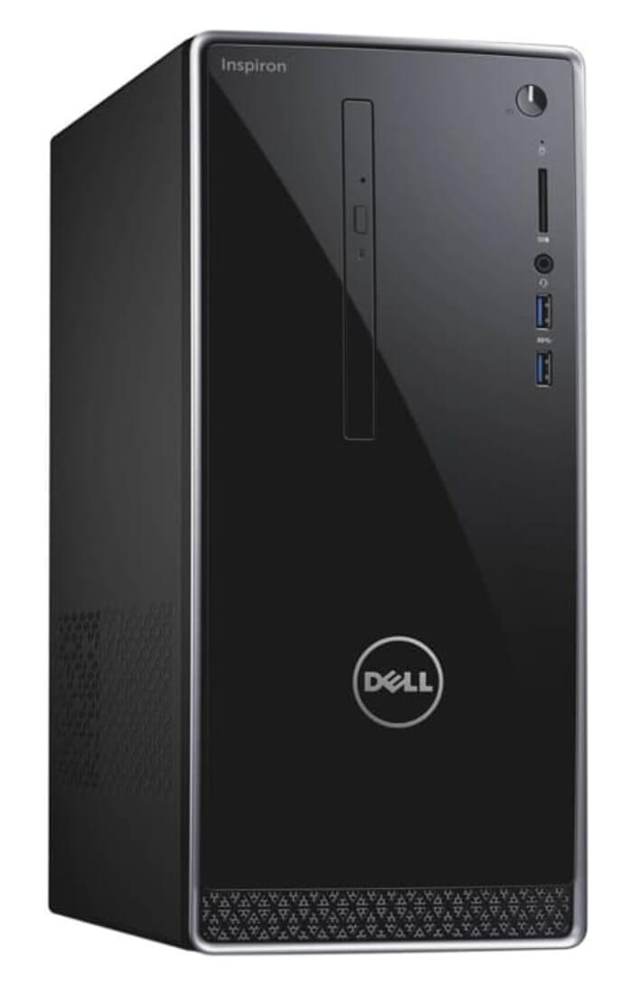 2017 Newest Dell 3668 Inspiron 7th Generation Mid Size Tower Computer PC (Intel Quad Core i7-7700, 16GB DDR4 Ram, 2TB HDD, 2GB NVIDIA GeForce GT 730, HDMI, WIFI, DVD-RW) Win 10 Pro
