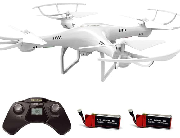 Super Cheap Drone (under $50): the Cheerwing CW4 RC Drone