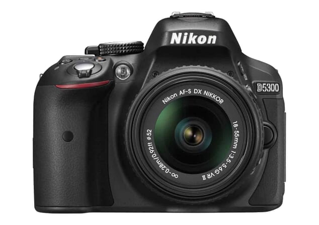 Most gifted DSLR Camera: Nikon D5300