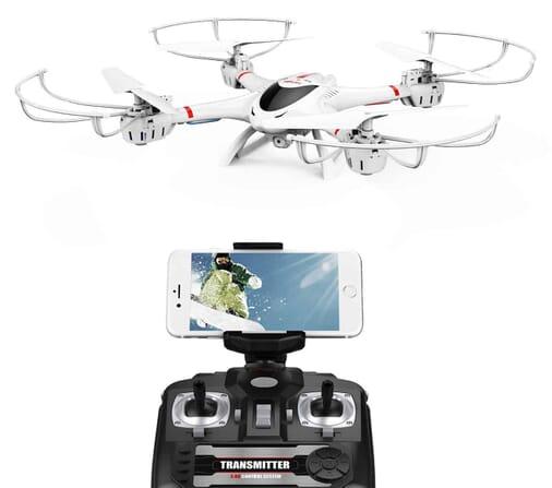 Best Seller Drone under $200: the DBPOWER MJX X400W FPV