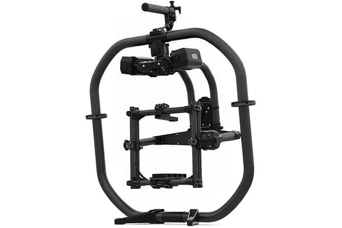 One of the most expensive Gimbals for DSLRs: the Freefky Movi Pro Handheld Bundle