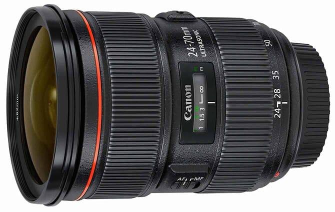 A Top Lens for Canon EOS 80D: the Canon EF 24-70mm f/2.8 L II USM