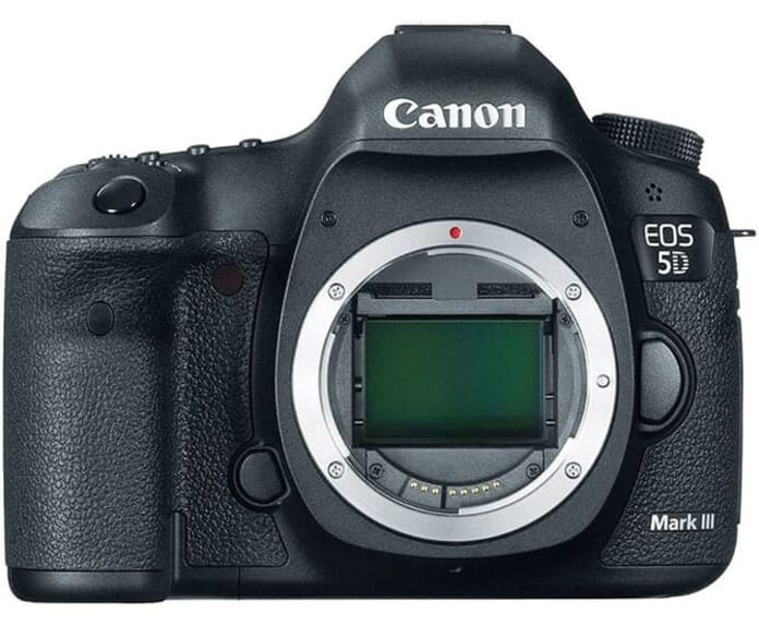 Most gifted DSLR (Full Frame): the Canon EOS 5D Mark III
