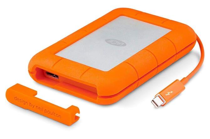 LaCie Rugged Thunderbolt portable external hard drives