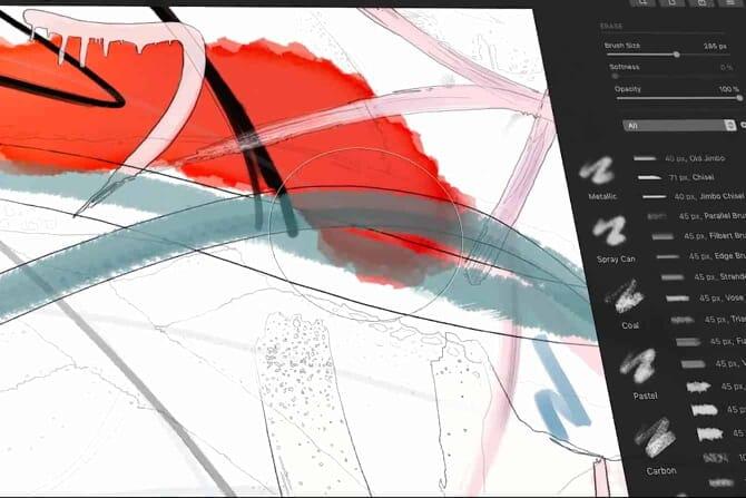 Pixelmator Pro digital painting