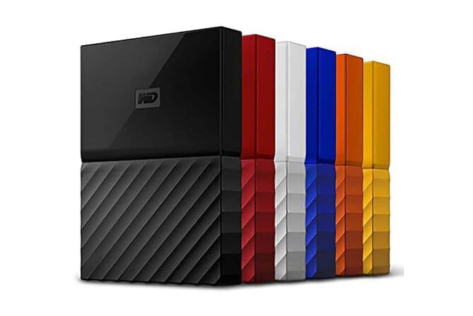 WD My Passportportable external hard drives