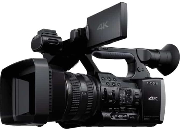 One of the Best Professional Camcorders: the Sony FDR-AX1 Digital 4K Video Camera Recorder