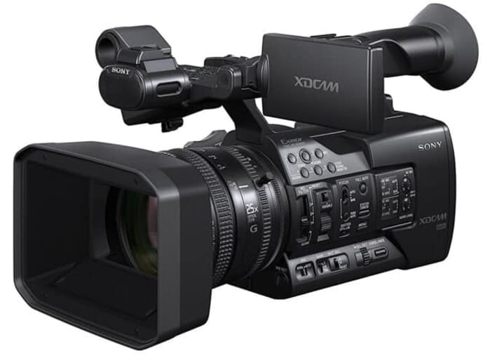 Another Professional Camcorders Option: the Sony PXWX180 XDCAM XAVC HD422 Hand-held Camcorder