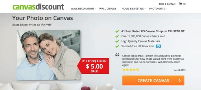 Best Budget Canvas Printing Service CanvasDiscount