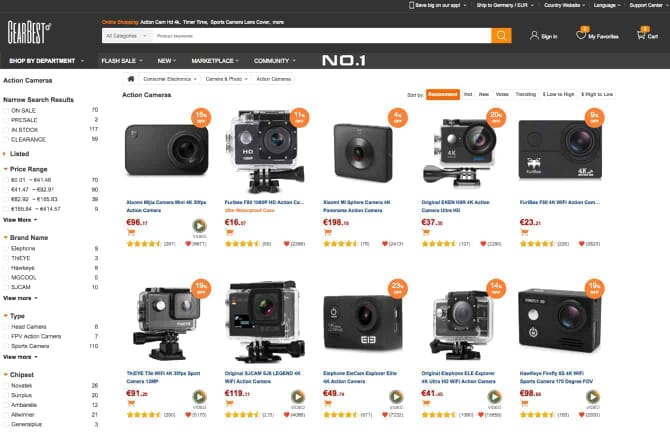 Review of GearBest.com (for Photography and Camera Equipment)