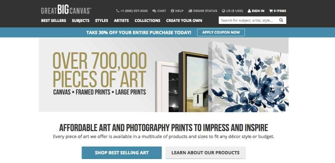 Review of the Best Canvas Printing Service Providers 2
