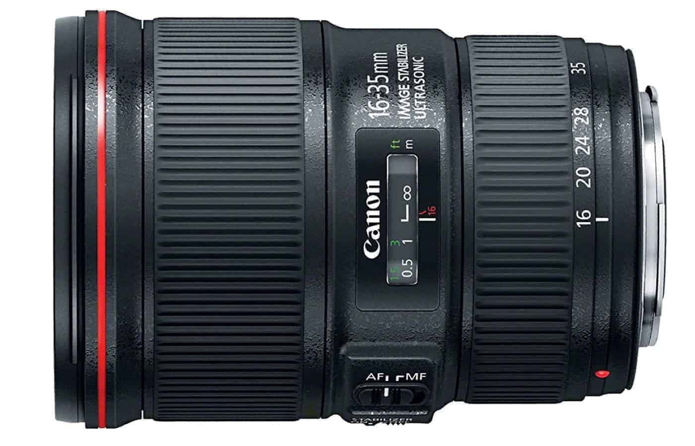 Best Canon Landscape Lens #2 Canon EF 16-35mm f:4L IS USM Lens