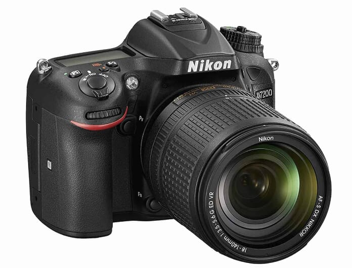 Best Nikon DSLR under $1,000 #1 Nikon D7200 DX-format DSLR Body (Black)