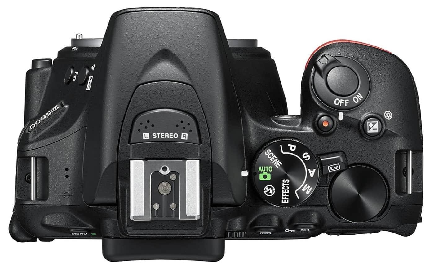 Best Nikon DSLR under $1,000 #2 D5600 DX-Format DSLR