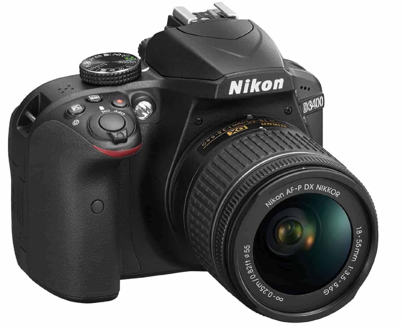 Best Nikon DSLR under $1,000 #4 Nikon D3400 w/ AF-P DX NIKKOR
