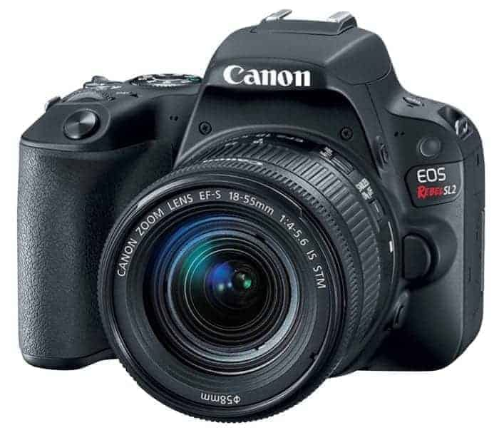Canon EOS 200D (Rebel SL2) a Great DSLR with KitLens under $1,000