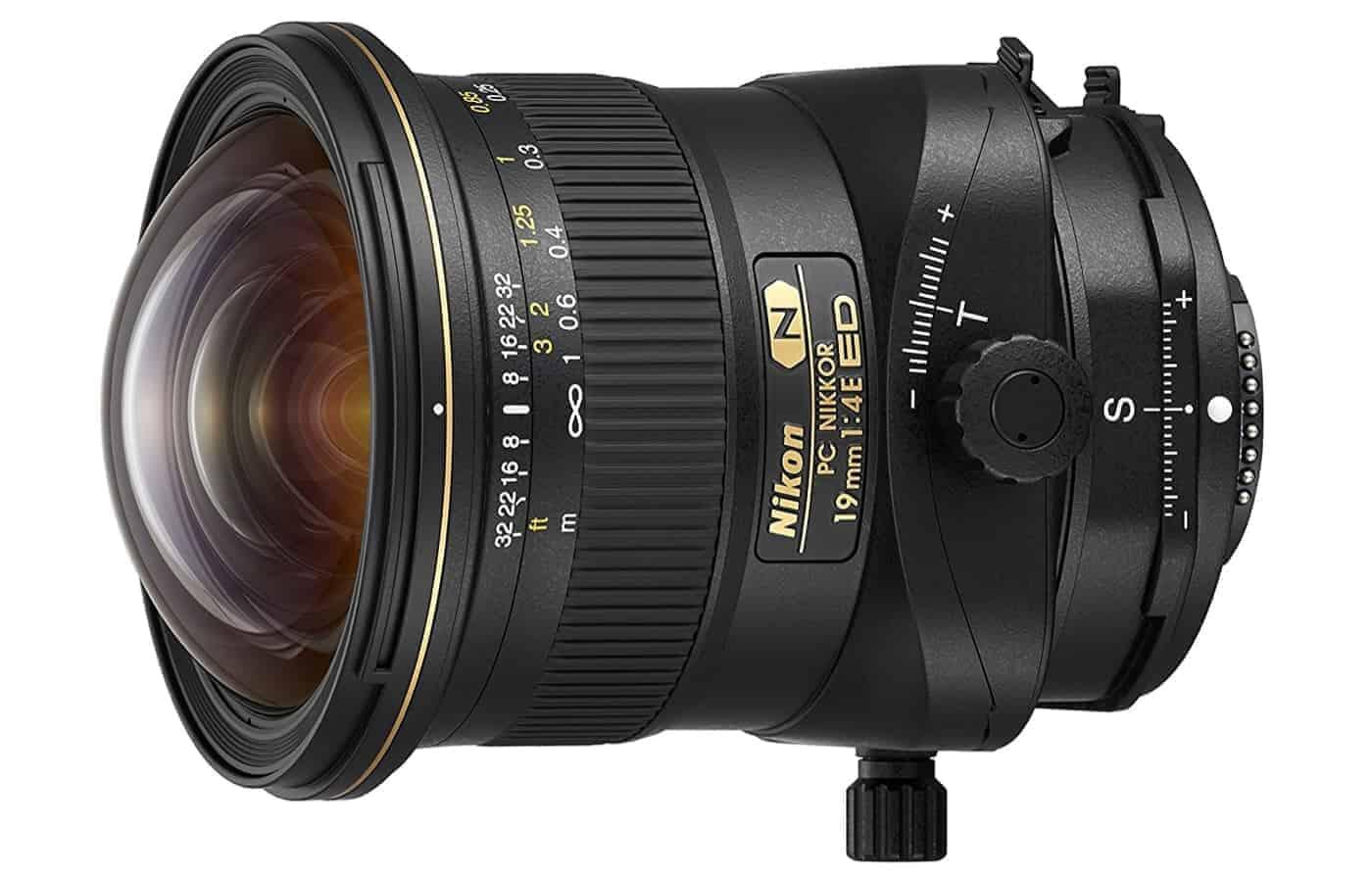 Nikon PC NIKKOR 19mm f/4E ED Best Lenses for Full Frame Real Estate Cameras