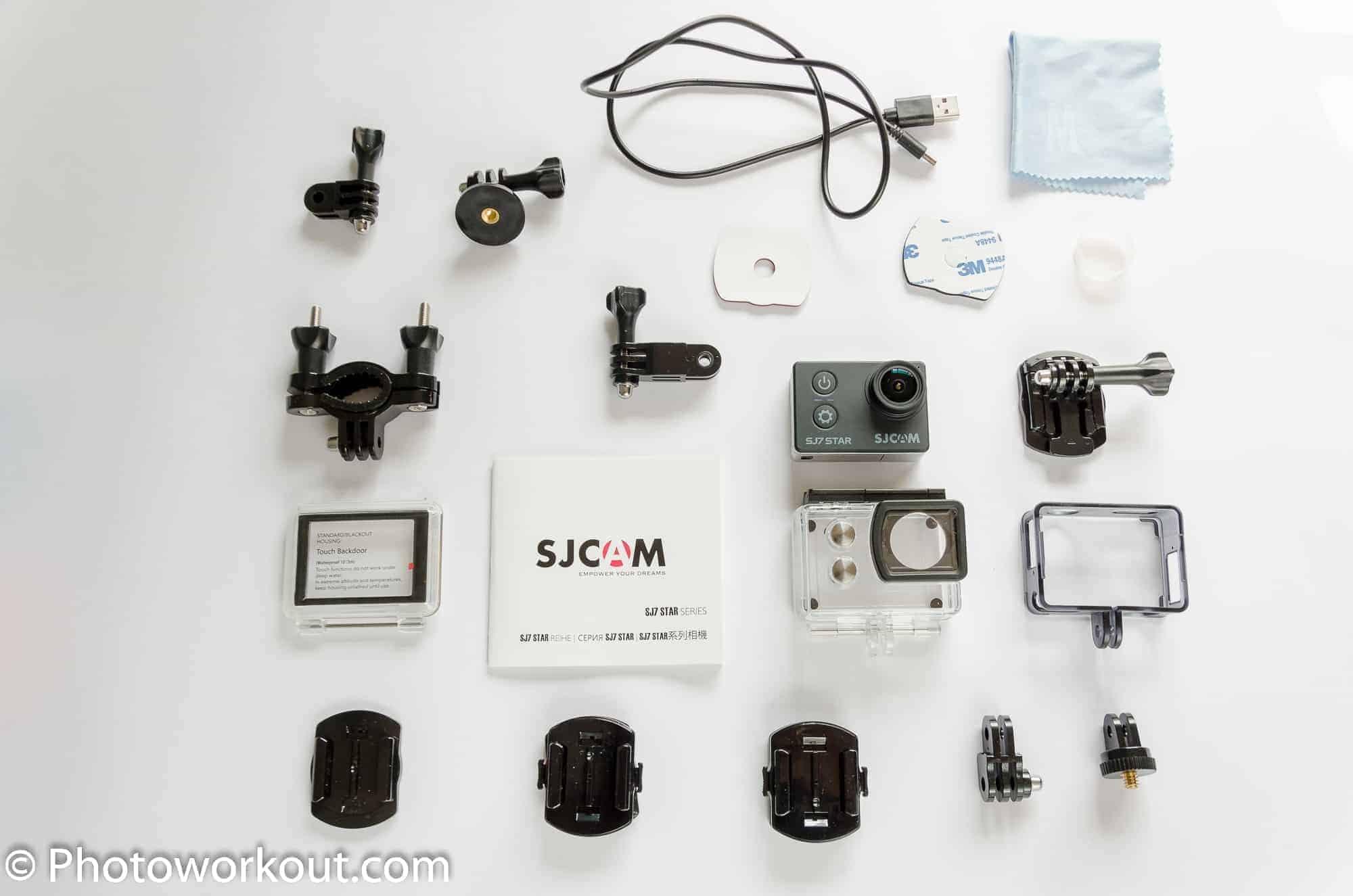 SJ7 Star Accessories Provided