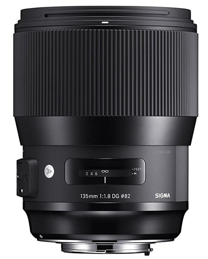 Sigma 135mm f1.8 DG HSM Art