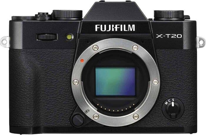 Comparing the Best Mirrorless under $1,000: the Fujifilm X-T20 Mirrorless Camera Body 64GB Body Bundle (Black)