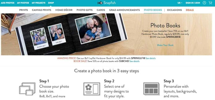 Snapfish.com - One of the Best Online Photo Book Service Providers